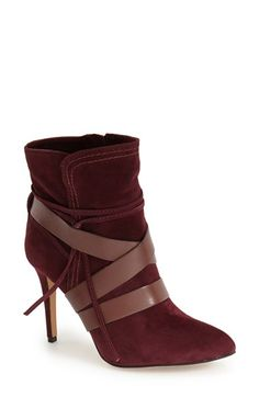 Vince+Camuto+'Solter'+Pointy+Toe+Bootie+(Women)+available+at+#Nordstrom