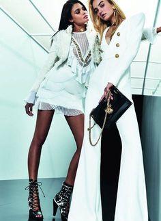 The complete Balmain Resort 2018 fashion show now on Vogue Runway. Fashion 2018, Fashion Week, Look Fashion, New Fashion, Runway Fashion, Fashion Outfits, Womens Fashion, Fashion Design, Fashion Trends