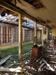Norwich State Hospital, photo by Nate Lane