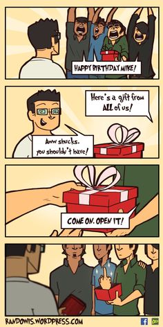 RandoWis :: Birthday Gift | Tapastic Comics