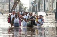 New Orleans flooding after Katrina