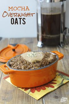 Coffee + Oatmeal= the most energizing and healthful breakfast you've ever had. Plus there's only 1 step required!