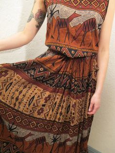 ethnic dress #boho #maxi dress