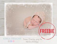 Freebie | Snow Overlay | How to use Photo Overlays ? Free Photoshop Tutorial | kimla designs | photography designs: KIMLA DESIGNS