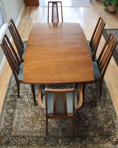 BROYHILL EMPHASIS Mid Century Modern Dining Table W/6 Chairs   Great Mad  Men / Eames Era Decor | Mid Century Modern, Mid Century And Modern