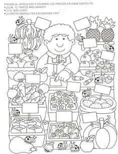 Crafts,Actvities and Worksheets for Preschool,Toddler and Kindergarten.Lots of worksheets and coloring pages. Community Helpers Worksheets, Worksheets For Kids, Printable Worksheets, Kindergarten Math, Teaching Math, Classroom Activities, Preschool Activities, Coloring For Kids, Coloring Pages