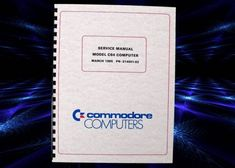 Commodore C64 Computer Service Manual. March 1985. Computer Service, Disk Drive, User Guide, Manual, Retro, March, Ebay, Textbook, Retro Illustration