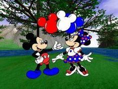 mickey and minnie 4th of july images