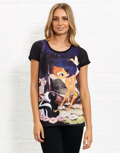Image for Bambi Sublimation Tee from Jay Jays