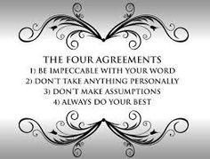 Image result for 4 agreements don miguel ruiz