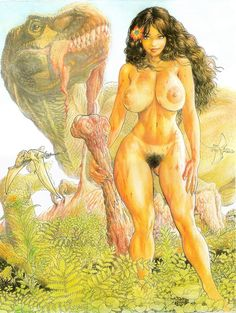 NM New CAVEWOMAN GANGSTER #3 BUDD ROOT Special Edition BOND NUDE Cover Nice