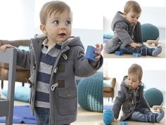 Kids Jacket For Winter Infant Children Coat Fashion Overcoat Horn Button Casual Boys Outerwear