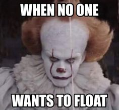 I wanna float....