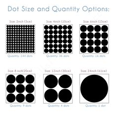 Equal Polka Dot Wall Stickers Will Enhance Your Space
