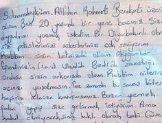Genç kızdan Sur'daki polislere sarsıcı mektup haberi