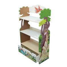Teamson Dinosaur Bookcase | Wayfair UK