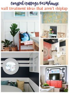 coastal-cottage-and-farmhouse-style-wall-treatment-ideas-that-arent-shiplap-at-the-happy-housie