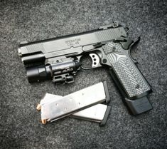 "celtic-tactical: "" Swap the for a and this is perfection. Tactical Pistol, 1911 Pistol, Tactical Gear, Weapons Guns, Guns And Ammo, Battle Rifle, Combat Gear, Shooting Guns, Custom Guns"