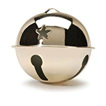 Bulk Buy: Darice DIY Crafts Jingle Bell Gold with Star Cutouts 2.75 inches (6-Pack) 10558-22