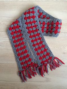Granny stripe sjaal voor Sil
