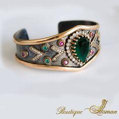 Sultana Huyam Silver Bracelet by Boutique Ottoman