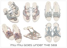 {my shopping bag} Miu Miu's Goes Under the Sea. Follow the post: http://www.thefashionistyle.com/2012/04/my-shopping-bag-miu-mius-goes-under-sea.html
