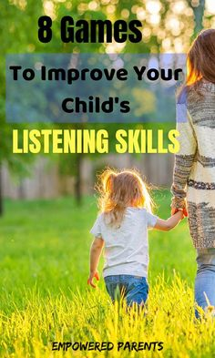 Would you like to improve your child's listening skills? Try these simple listening games and activities for kids that take only takes 5 or 10 minutes a day! Listening Activities For Kids, Listening Games, Active Listening, Listening Skills, Preschool Learning, Early Learning, In Kindergarten, Preschool Activities, Teaching Kids