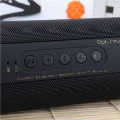 Bluetooth Bass Speaker Portable Waterproof Outdoor Wireless Mini Column Box Loudspeaker Support TF Card FM Stereo Hi-Fi Boxes Wireless Speaker System, Best Portable Bluetooth Speaker, Waterproof Bluetooth Speaker, Audio Crossover, Loudspeaker Enclosure, Speakers For Sale, Technology, Mini, Microsd