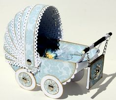 Baby Carriage Card