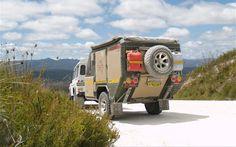 Land Rover + Trailer Adventure Camper