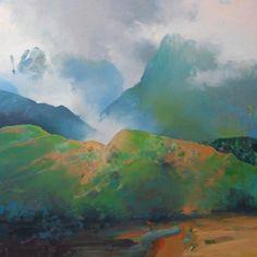 Kauai 6, painting by artist Randall David Tipton