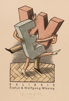 Egbert Herfurth, Art-exlibris.net