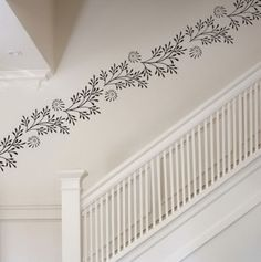 Artistic-Flowers-Vinyl-Wall-Stickers-Decals-for-Family-Room-Stairs-Wall-Decoration-Ideas.jpg (426×428)