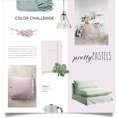 Spring Home by magdafunk on Polyvore featuring interior, interiors, interior design, home, home decor, interior decorating, Anthropologie, Currey & Company, Surya and Breville