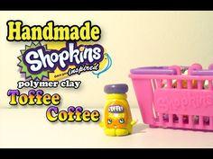 Shopkins: Toffee Coffee Polymer Clay Tutorial