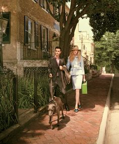 ON MAIKO: Kid mohair coat, kid mohair jacket, vichy shirt, kid mohair pants, and leather shoes, Prada. Large tank anglaise steel watch, Cartier. ON NATALIE: Vichy coat, skirt, and leather belt, Prada. Karen cloche hat, Louise Green Millinery. Jean Schlumberger sixteen-stone ring, Tiffany & Co. Metallic leather shoes, Prada. Green hard-sided suitcase, Louis Vuitton.