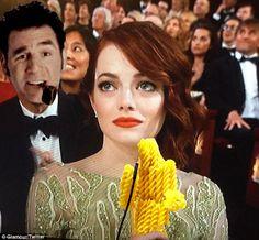 The Oscar moment.