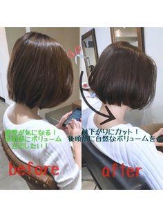 大人女子に人気!!まとまり◎前下がりショートボブ☆ - 24時間いつでもWEB予約OK!ヘアスタイル10万点以上掲載!お気に入りの髪型、人気のヘアスタイルを探すならKirei Style[キレイスタイル]で。