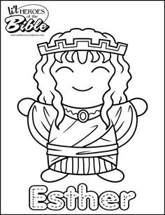 lil heroes of the bible coloring pages great for your vbs sunday
