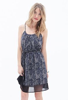 Abstract Dotted Dress | FOREVER21 - 2000058714
