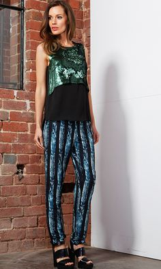 AlibiOnline - Rayas Pant by FATE*, $95.95 (http://www.alibionline.com.au/rayas-pant-by-fate/)