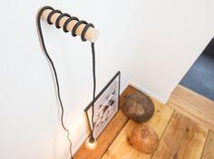 LAMPI  Pendelleuchte, Wandleuchte, Hängelampe, Beleuchtung, Minimalistisch, Skandinavisch, Modern, Design, Nordisch, Esche, Holz