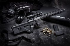 I am certainly no expert on the California firearms legislation, but with new upcoming and stricter rules (sigh) LAN World have been working with HERA Arms in Germany for several months on a new design that will meet the new 2017 California laws.  The pictures show the California option, called HERA Arms CQR Stock.