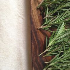 The Avant-Garden || Fresh Rosemary Sprigs || Homemade Roasted Root Vegetables with Rosemary Infused Butter recipe