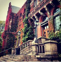 University library, Lund, Sweden