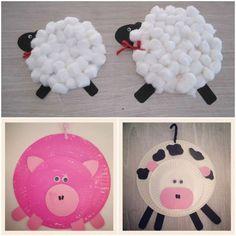 Jpg farm crafts, farm animal crafts, kids crafts, p Farm Animal Crafts, Farm Crafts, Farm Animals, Crafts For Kids, Arts And Crafts, Animal Projects, Preschool Art Projects, Preschool Art Activities, Animal Activities