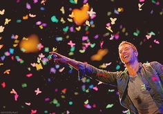 Coldplay concert was the best night of my life...you gotta love Chris Martin