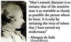 1000 images about marquis desade on marquis de sade quotes marquis and quote search