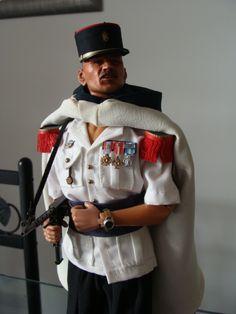 Sergent de la 1ère compagnie saharienne portée de la légion etrangère