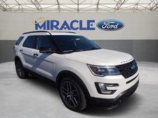 New 2016 Ford Explorer Sport White SUV- just like my car! : cars similar to ford explorer - markmcfarlin.com